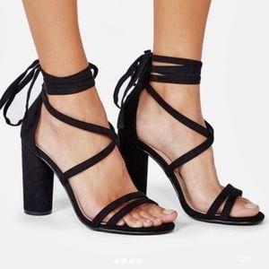 Heel sandals sz 10